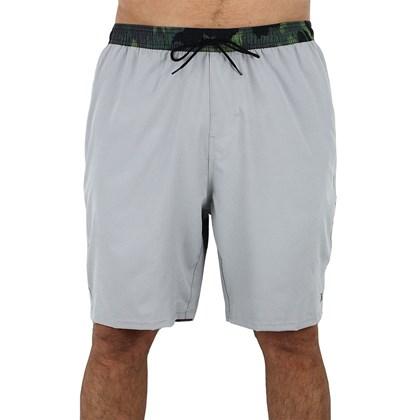 Shorts Volley Extra Grande Hurley Hunter Grey