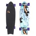 """Skate Longboard Quiksilver Ghetto Dog 34"""" x 10"""""""
