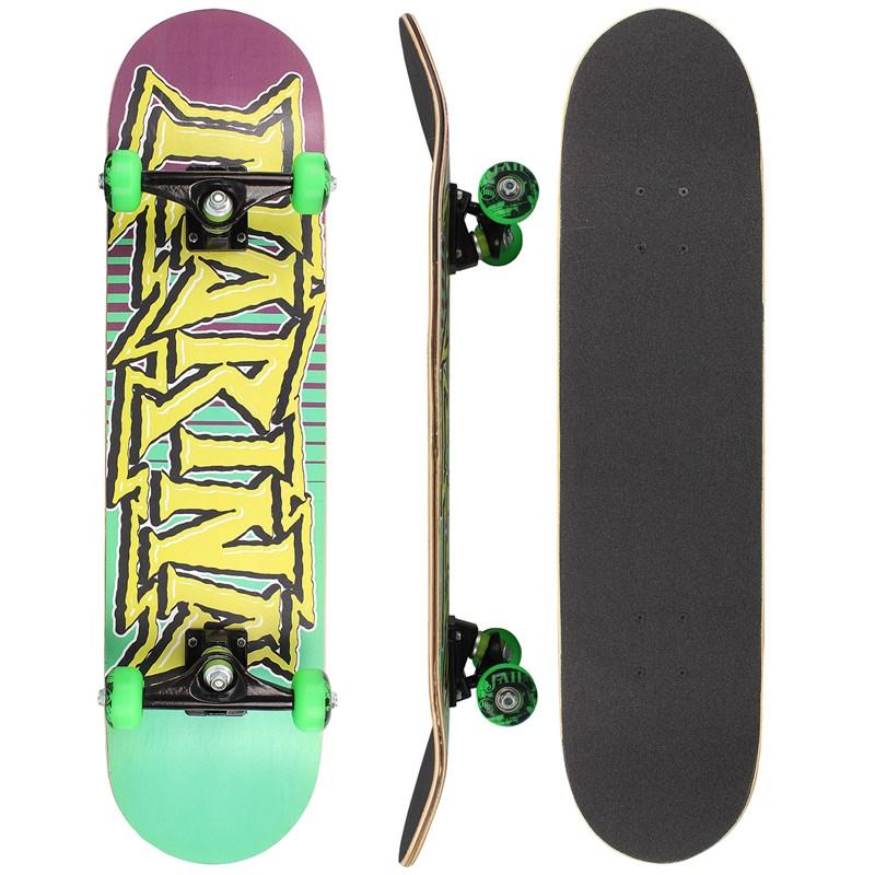 Skate Narina Iniciante Logo Verde