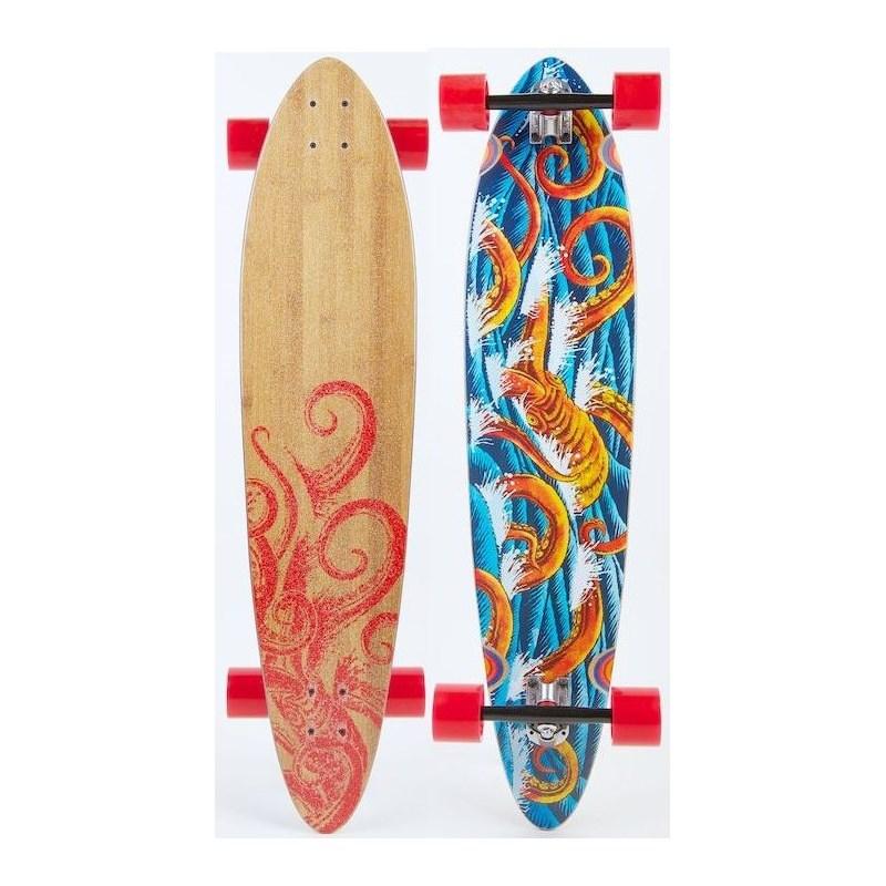 Skate Riviera Longboard Big Red