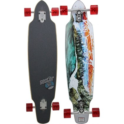 SKATE SECTOR 9 NORTHERN LIGHTS LONGBOARD SIDEWINDER SERIES