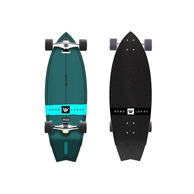 Skate Simulador de Surf HangLoose by Surfeeling Green