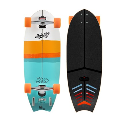 Skate Simulador de Surf Surfeeling Blowfish 1