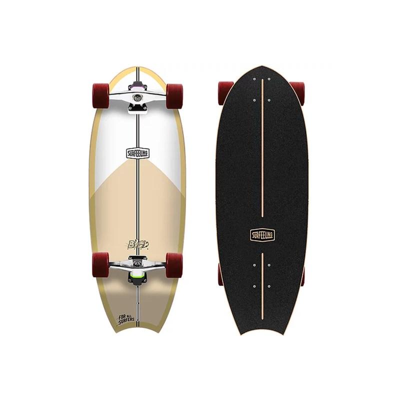 Skate Simulador de Surf Surfeeling Blowfish Yellow