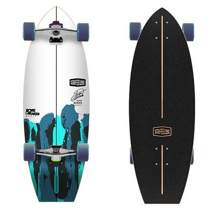 Skate Simulador de Surf Surfeeling Bone Breaker Jessé Mendes Signature