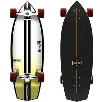 Skate Simulador de Surf Surfeeling Diamond New Yellow