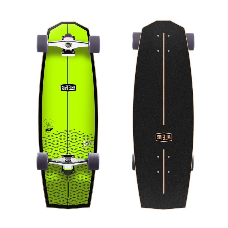 Skate Simulador de Surf Surfeeling Mr. Pop