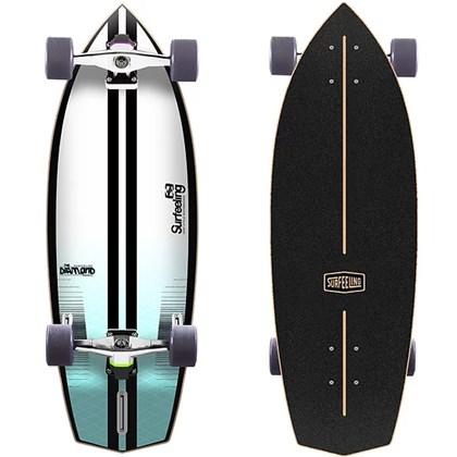 Skate Simulador de Surf Surfeeling Outline New Blue