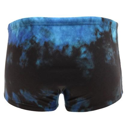 Sunga MCD Washed Preta e Azul