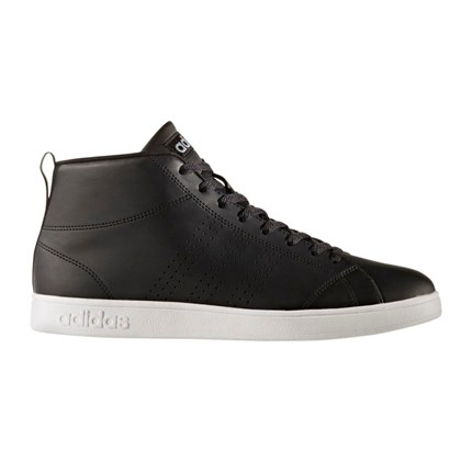 Tênis Adidas Advantage Clean Mid Black