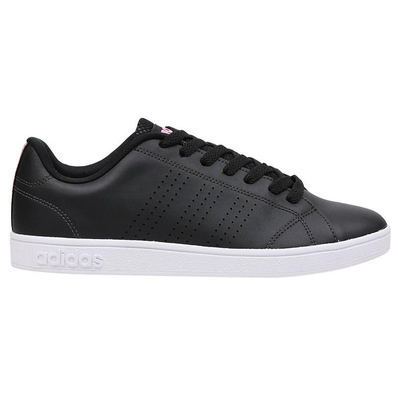 Tênis Adidas VS Advantage Clean Feminino Core Black Pink