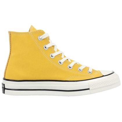 Tênis Converse Chuck 70 Hi Amarelo Ouro Branco Amêndoa