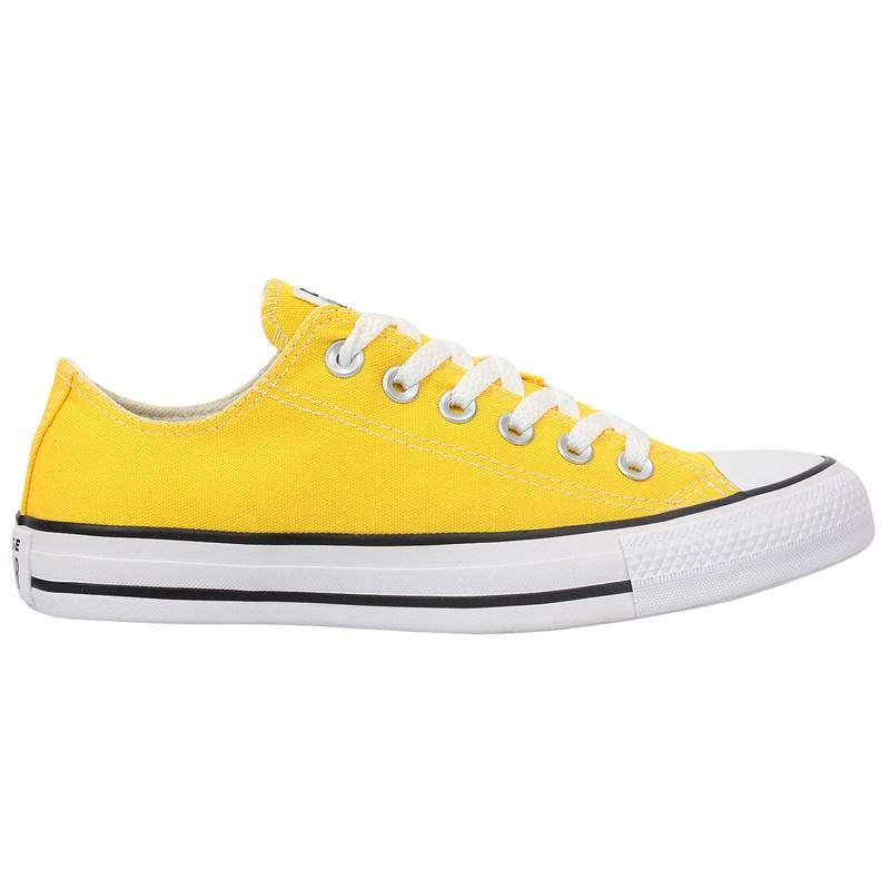 Tênis Converse Chuck Taylor All Star Amarelo Preto Branco