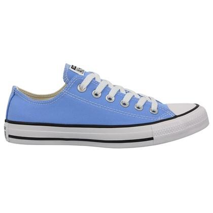 Tênis Converse Chuck Taylor All Star Azul Claro Preto Branco