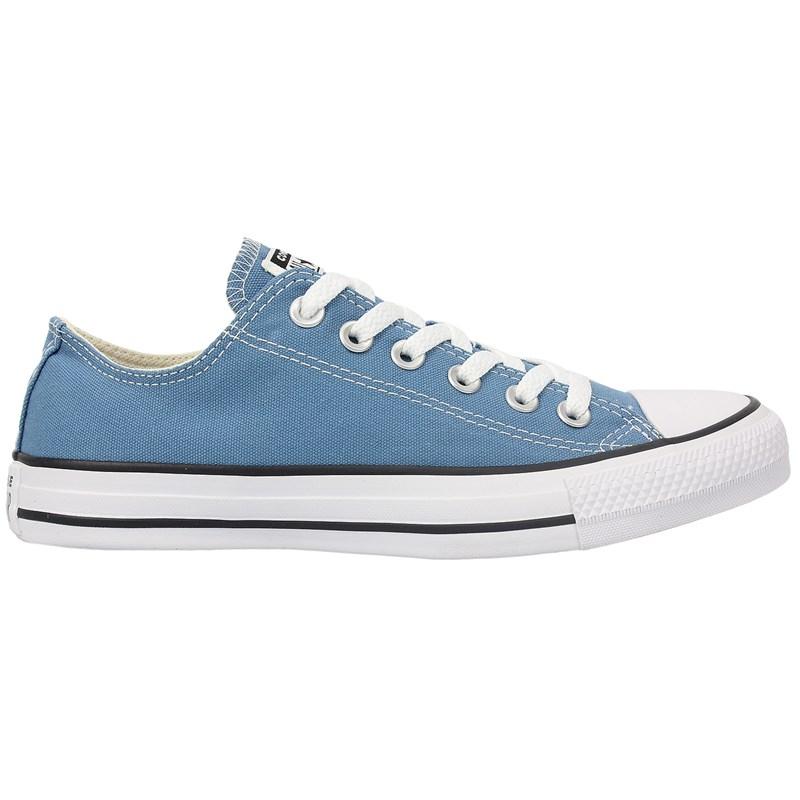 Tênis Converse Chuck Taylor All Star Azul Escuro Preto Branco