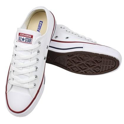 Tênis Converse Chuck Taylor All Star Branco Marinho