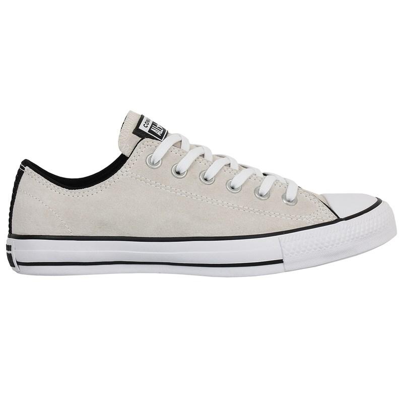 Tênis Converse Chuck Taylor All Star Branco Velho Preto Branco
