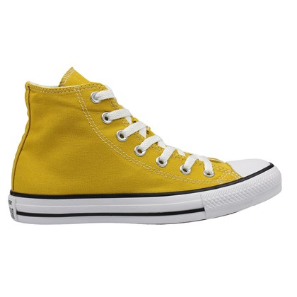 Tênis Converse Chuck Taylor All Star Hi Amarelo Minerio