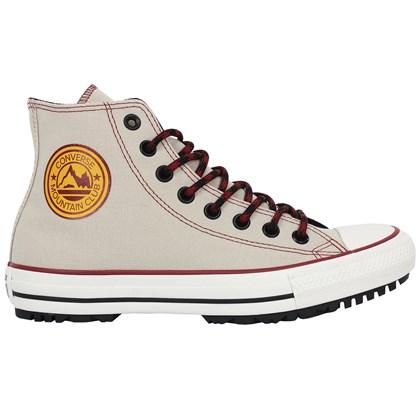 Tênis Converse Chuck Taylor All Star Hi Boot Marfim Beterraba Amêndoa