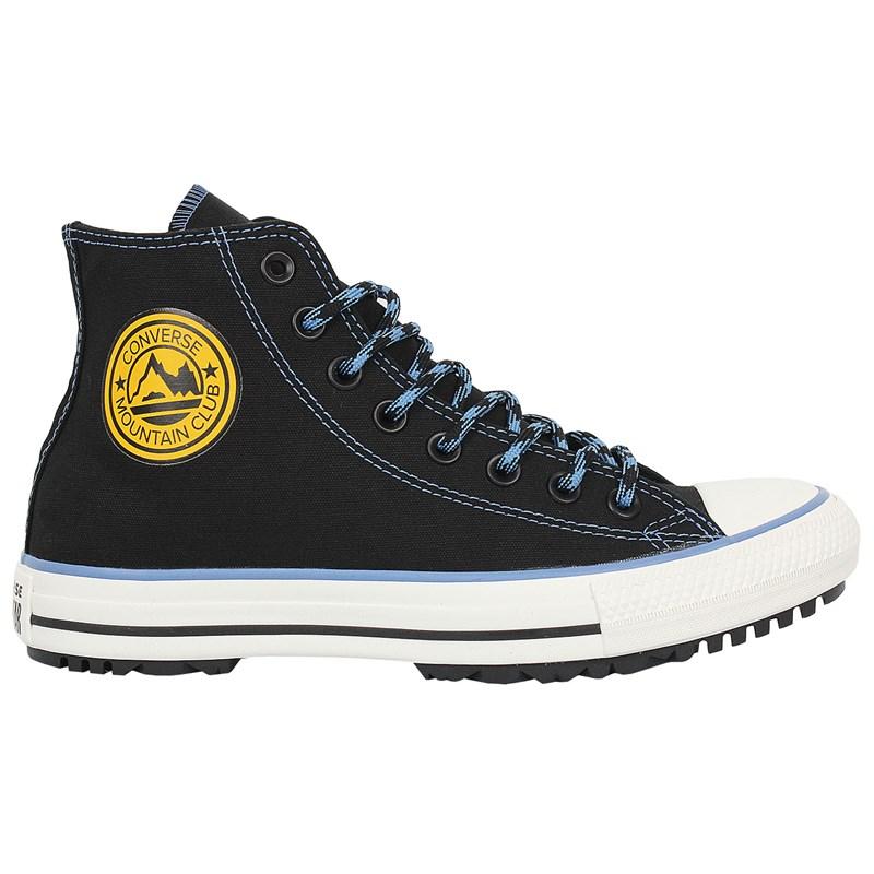 Tênis Converse Chuck Taylor All Star Hi Boot Preto Azul Amêndoa