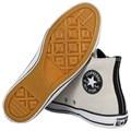 Tênis Converse Chuck Taylor All Star Hi Branco Velho Preto Branco