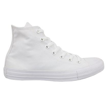 Tênis Converse Chuck Taylor All Star Hi Monocrome Branco