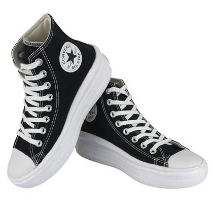 Tênis Converse Chuck Taylor All Star Move Hi Preto Branco