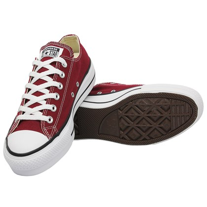 Tênis Converse Chuck Taylor All Star Plataform Bordo