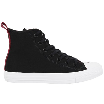 Tênis Converse Chuck Taylor All Star Preto Bordo Branco