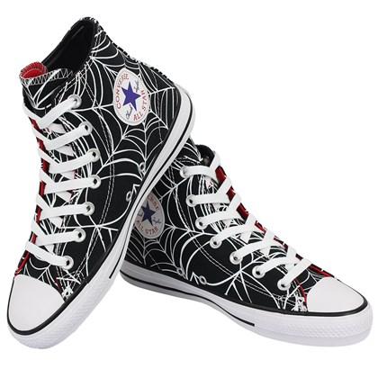 Tênis Converse Chuck Taylor All Star Pro Hi Preto Vermelho Branco