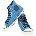 Tênis Converse Chuck Taylor All Star SKT Hi Azul Preto Amendoa