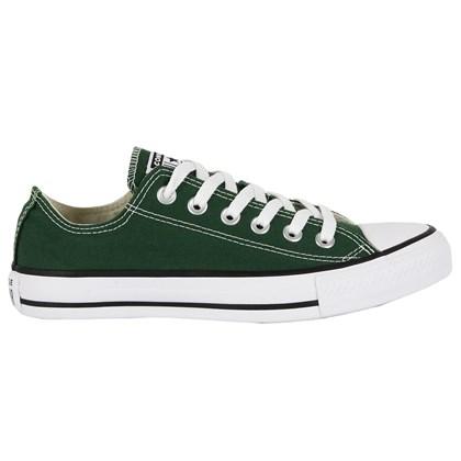 Tênis Converse Chuck Taylor All Star Verde Floresta Preto Branco