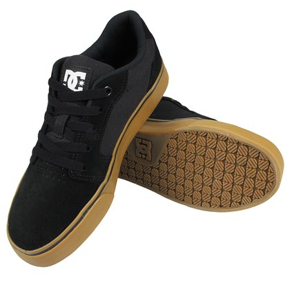 Tênis DC Shoes Anvil 2 LA Black Gum