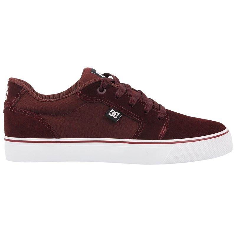 Tênis DC Shoes Anvil LA Maroon