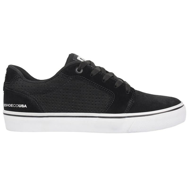 Tênis DC Shoes Anvil LA SE Black Black White