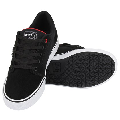 Tênis DC Shoes Anvil Tiago Lemos Black Red