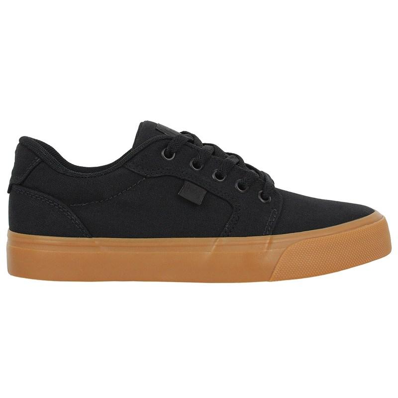 Tênis DC Shoes Anvil TX LA Black Black Gum