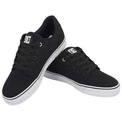 Tênis DC Shoes Anvil TX LA Black White