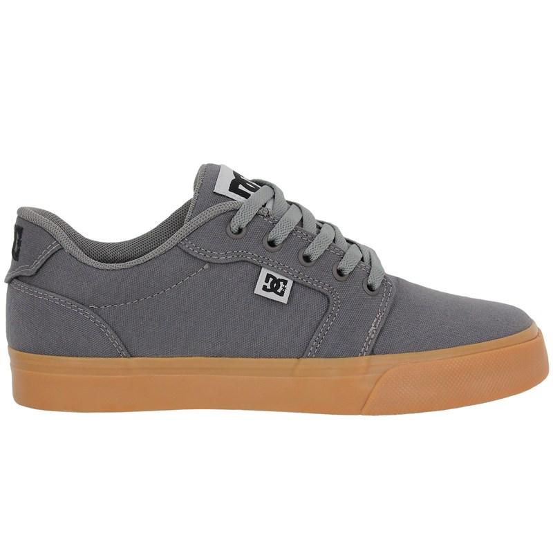 Tênis DC Shoes Anvil TX LA Grey Black Grey