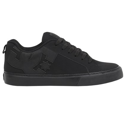 Tênis DC Shoes Court Graffik Black Black