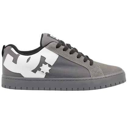Tênis DC Shoes Court Graffik TX Grey Grey Black