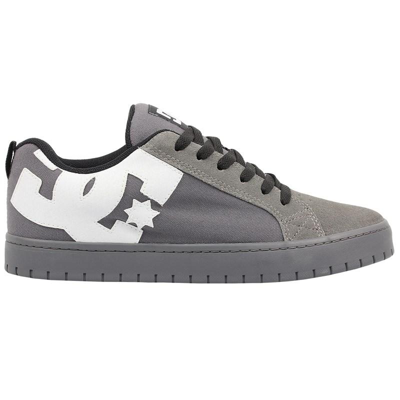 Tênis DC Shoes Court Graffik TX Grey Grey Black