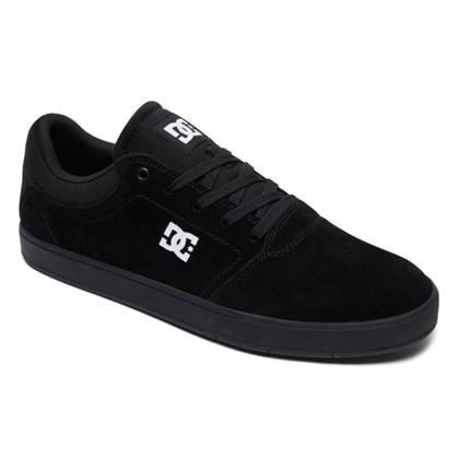 Tênis DC Shoes Crisis LA Black Black White