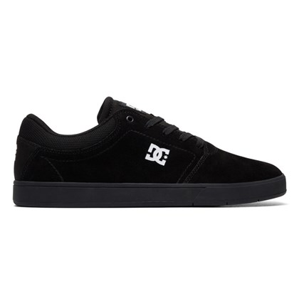 Tênis DC Shoes Crisis LA Black Black White