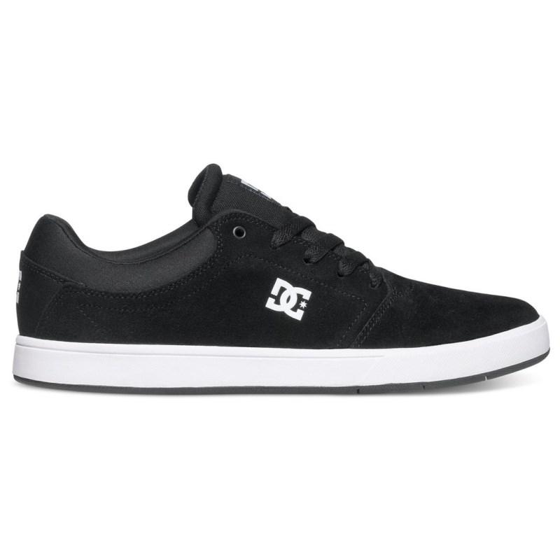 Tênis DC Shoes Crisis LA Black White