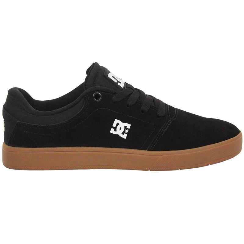 Tênis DC Shoes Crisis LA Black White Gum