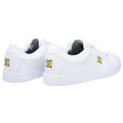 Tênis DC Shoes Crisis Leather LA White