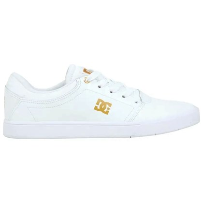 Tênis DC Shoes Crisis Leather LA White