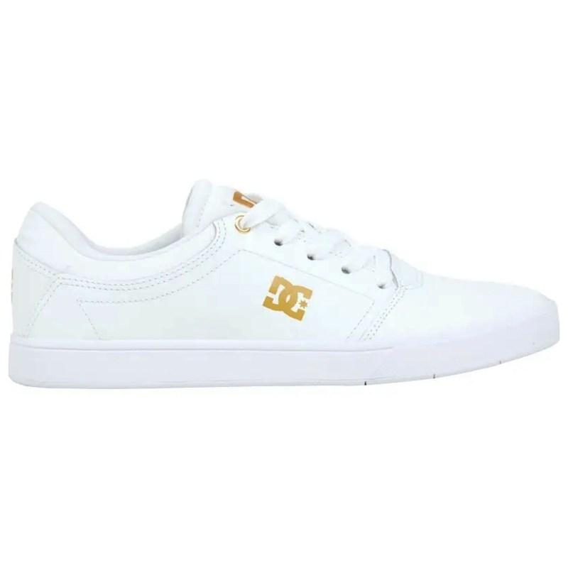 Tênis DC Shoes Crisis LE LA Branco - Surf Alive f30138d75f970