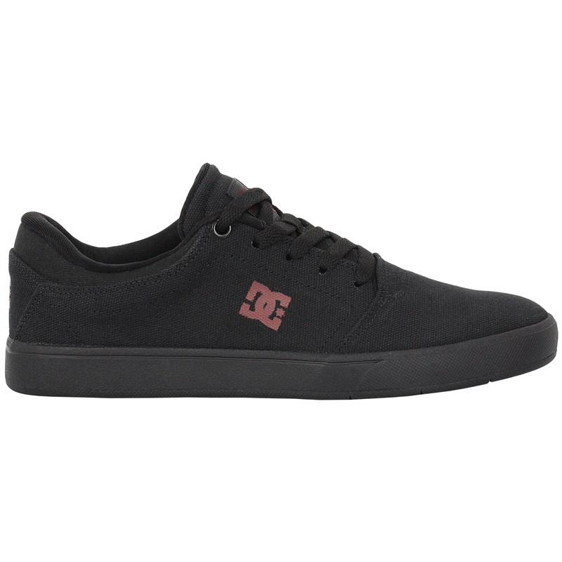 Tênis DC Shoes Crisis TX LA Black Black Dark Grey